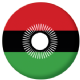 Malawi 2010-2010 Country Flag 25mm Pin Button Badge.